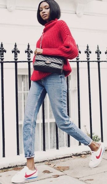 jeans+tricot