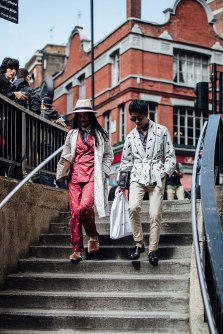 Londres Fashion Week - Street Style verão 2018