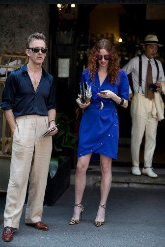 Milão Fashion Week - Street Style verão 2018