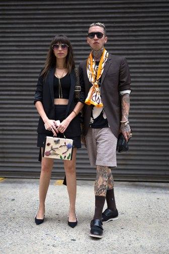 New York Fashion Week - Street Style verão 2018