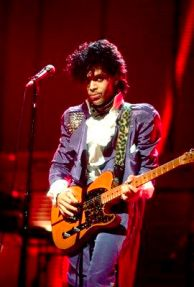 Prince on 12/9/82 in Chicago,Il. (Paul Natkin/Image Direct)