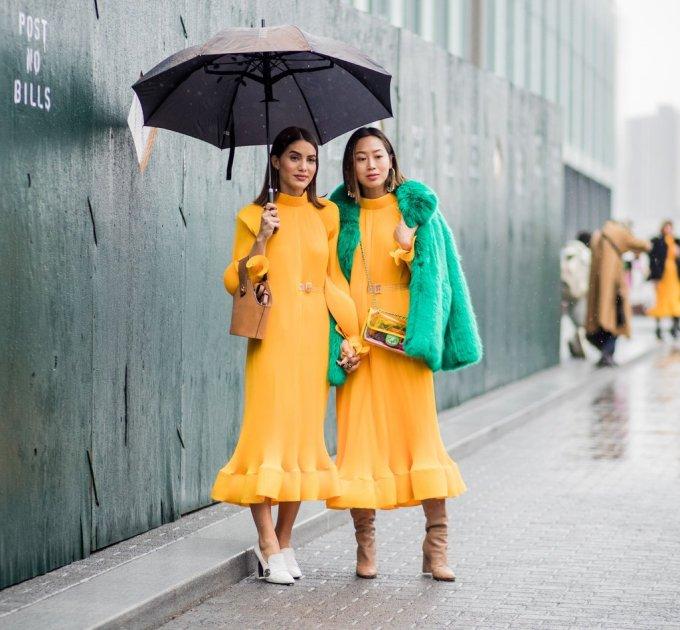 Matching-Outfits-Fashion-Week-Fall-2018